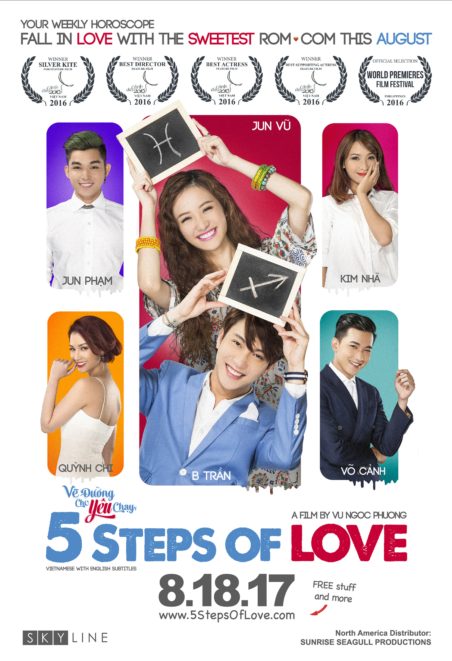 5 Steps of Love US Poster